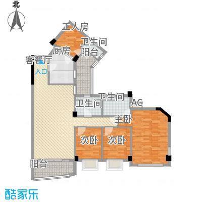 嘉多利山花园别墅133.92㎡嘉多利山花园别墅户型图4室2厅3卫1厨户型10室