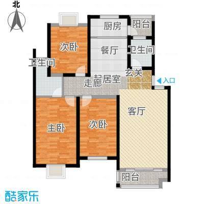 双子星国际广场双子星国际广场户型图[5)KB_6B6DOHHPY5]WRF2073室户型3室