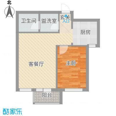 山河秀景山河秀景1室户型1室