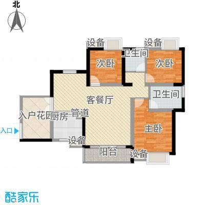 世纪城90.80㎡世纪城户型图V区1#/2#楼3-27层A/D户型3室2厅2卫1厨户型3室2厅2卫1厨