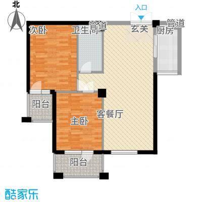 中海华庭别墅中海华庭别墅2室户型图2室户型2室