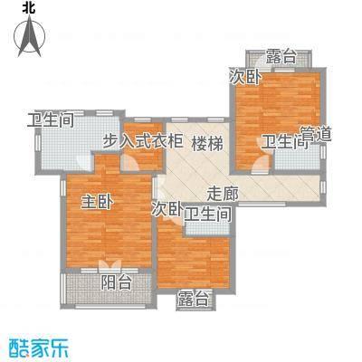 高发上东1号130.00㎡高发上东1号户型图1#楼A户型3室2厅2卫1厨户型3室2厅2卫1厨