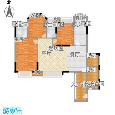 富康豪庭二期128.00㎡富康豪庭二期1室户型1室
