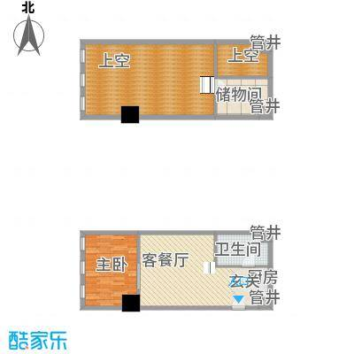 新建SOHO新建SOHO户型图1室2厅1卫1厨户型10室