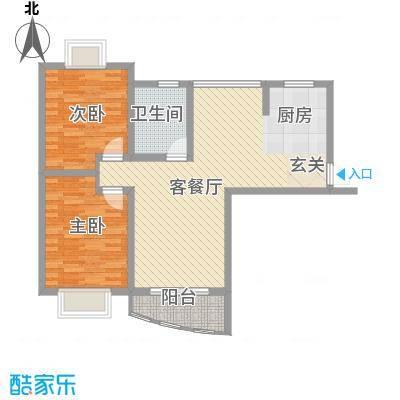 万马滨河城96.10㎡万马滨河城户型图户型图2室2厅1卫1厨户型2室2厅1卫1厨