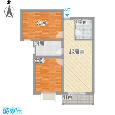 东润花园(北京新干线二期)94.39㎡东润花园(北京新干线二期)户型图22号楼-E户型2室2厅1卫1厨户型2室2厅1卫1厨
