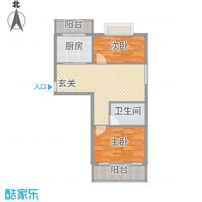 欣园小区83.40㎡欣园小区户型图户型B2室2厅1卫户型2室2厅1卫