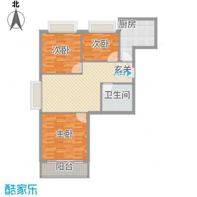 欣园小区107.42㎡欣园小区户型图户型A3室2厅1卫户型3室2厅1卫