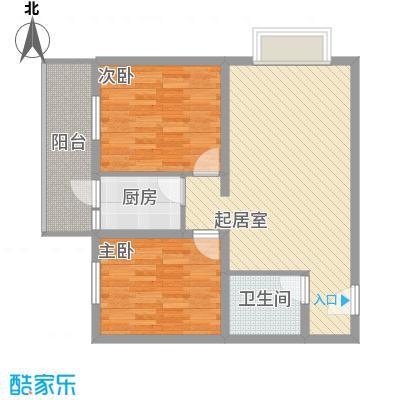东润花园(北京新干线二期)81.04㎡东润花园(北京新干线二期)户型图15#楼-A户型2室2厅1卫1厨户型2室2厅1卫1厨