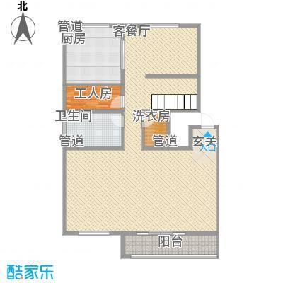 泰隆华林园358.92㎡泰隆华林园户型图B4室2厅3卫1厨户型4室2厅3卫1厨