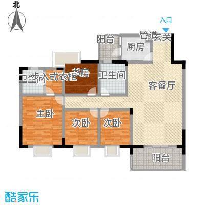 长盛花园长盛花园户型图户型4室2厅2卫1厨户型4室2厅2卫1厨