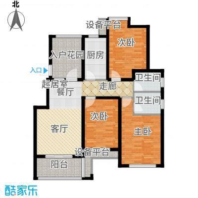 骏和・玲珑湾113.00㎡骏和・玲珑湾户型图F1户型3室2厅2卫1厨户型3室2厅2卫1厨