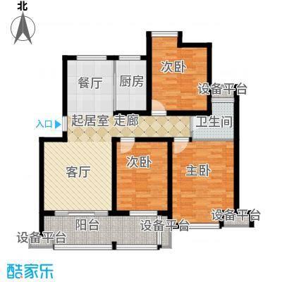 骏和・玲珑湾骏和・玲珑湾户型图B户型3室2厅1卫1厨100.00㎡户型10室