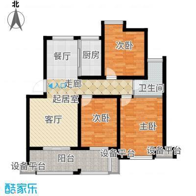 骏和・玲珑湾100.00㎡骏和・玲珑湾户型图B户型3室2厅1卫1厨户型3室2厅1卫1厨