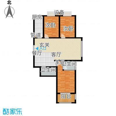 都市广场136.55㎡都市广场户型图1#06户型3室2厅2卫1厨户型3室2厅2卫1厨