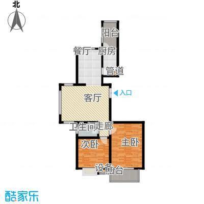 都市广场118.66㎡都市广场户型图2#01户型2室2厅1卫1厨户型2室2厅1卫1厨