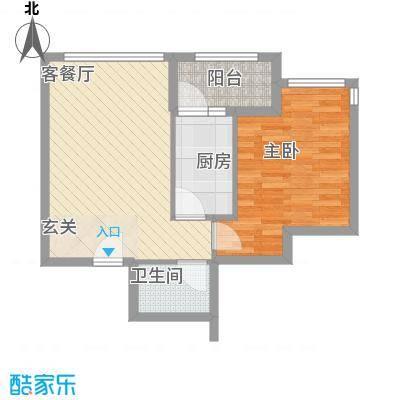 罗马花园64.14㎡罗马花园户型图一室一厅一卫64.141室1厅1卫1厨户型1室1厅1卫1厨