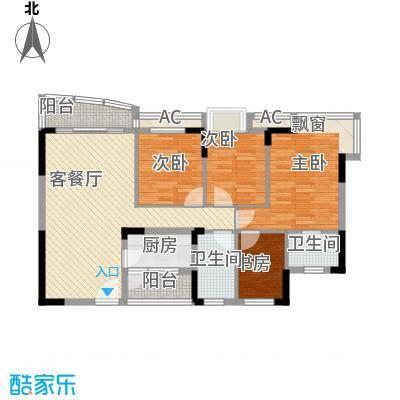 中惠山畔名城120.22㎡中惠山畔名城户型图4室2厅2卫1厨户型10室