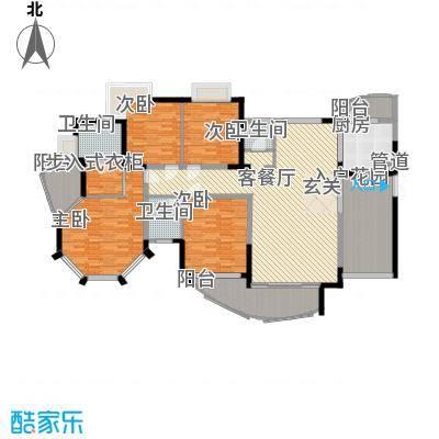 新世纪丽江豪园四期新世纪丽江豪园四期4室2厅户型10室