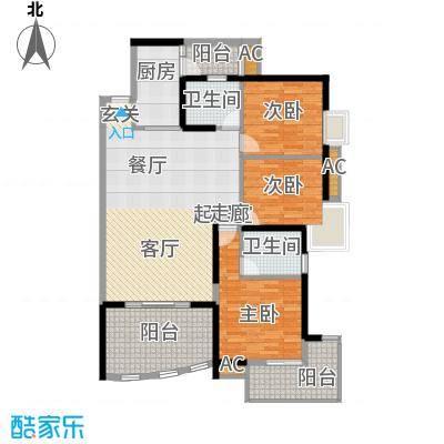 宝城花园550.00㎡宝城花园4室户型4室