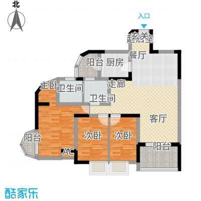 兴业华庭96.00㎡兴业华庭2室户型2室