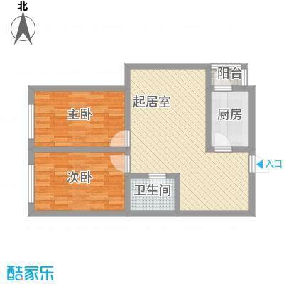 新星花园81.30㎡新星花园户型图E户型2室2厅1卫1厨户型2室2厅1卫1厨