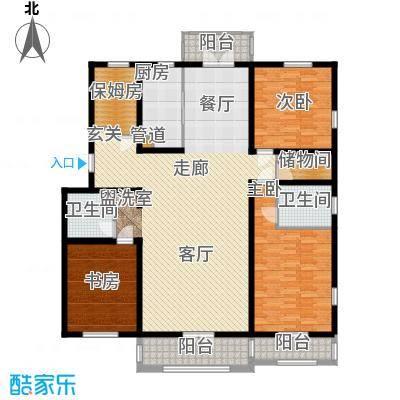 V特区172.30㎡V特区户型图4室1厅1卫1厨户型10室