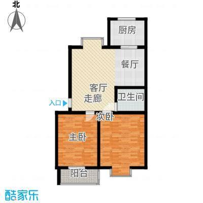 V特区89.00㎡V特区户型图2室1厅1卫1厨户型10室