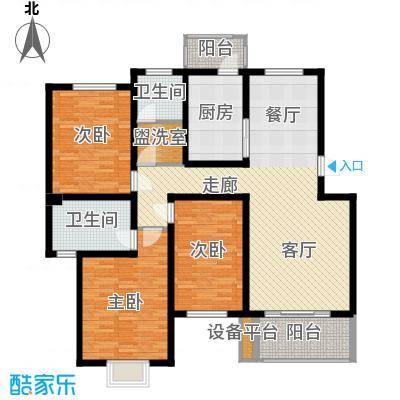 V特区127.80㎡V特区户型图3室1厅1卫1厨户型10室