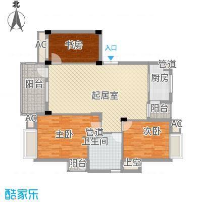 新世界花园别墅400.00㎡新世界花园别墅5室户型5室