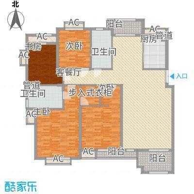 第一国际百安居 4室 户型图
