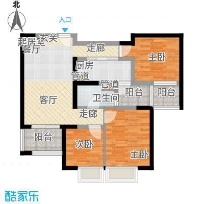 长福花园 0室 户型图