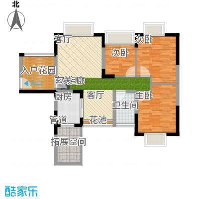 三正购物城 3室 户型图