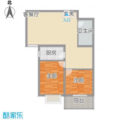 裕峰花园户型图户型图4(售完) 2室1厅1卫1厨