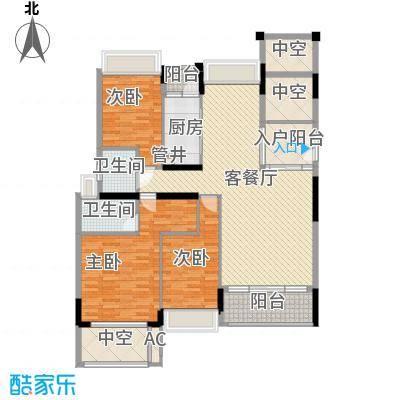 香缤雅苑户型图7-9栋1单元标准层02、2单元标准层01户型 3室2厅2卫1厨