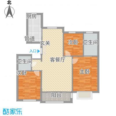 12#楼H户型