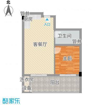 阳光半山森景户型图03浪漫满屋单位 1室1厅1卫1厨