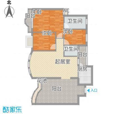 金凯水都别墅 5室 户型图