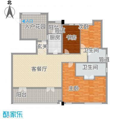 万科松山湖1号 4室 户型图