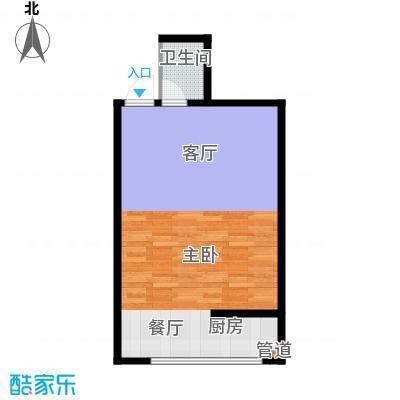 易居・山水豪庭项目57.86㎡易居・山水豪庭项目户型图G2户型1室2厅1卫1厨户型1室2厅1卫1厨