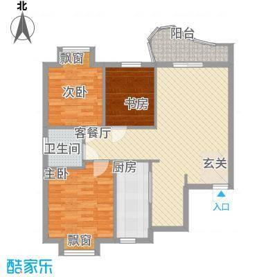 东城100(微笑城堡)99.20㎡东城100(微笑城堡)户型图二期户型A3室2厅1卫1厨户型3室2厅1卫1厨