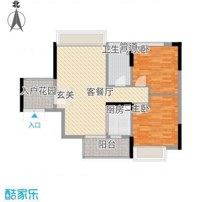 理想0769二期113.00㎡理想0769二期3室户型3室
