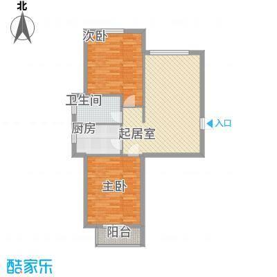 元兴理想新城84.52㎡元兴理想新城户型图B1B2C1C2C3B3号楼F户型2室1厅1卫1厨户型2室1厅1卫1厨