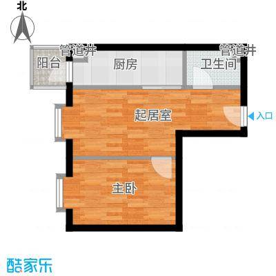 量具新区14户型1室1厅1卫1厨