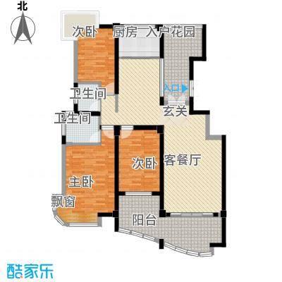 荣宏富家130.00㎡荣宏富家户型图一期6、7、8号楼小高层B1户型3室2厅2卫户型3室2厅2卫