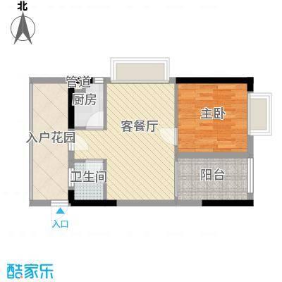 时代名轩56.85㎡时代名轩户型图13栋01单位标准层户型10室