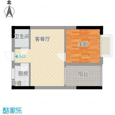 时代名轩51.16㎡时代名轩户型图13栋02单位标准层户型10室