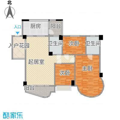 龙福花园136.91㎡龙福花园户型10室