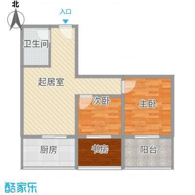 巧克力公寓79.22㎡巧克力公寓户型图户型-081室1厅1卫户型1室1厅1卫