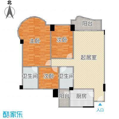 龙福花园131.65㎡龙福花园户型10室